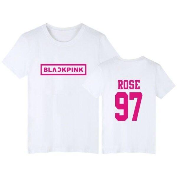 black pink rose