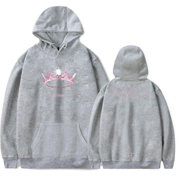 blackpink the album hoodie