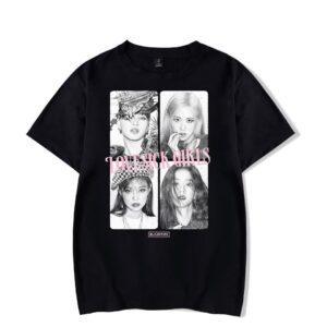 blackpink lovesick t-shirt