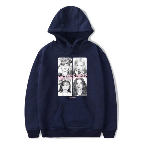 blackpink lovesick girls hoodie
