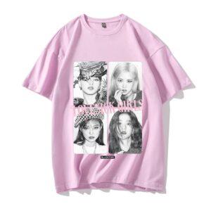 blackpink lovesick girls t-shirt